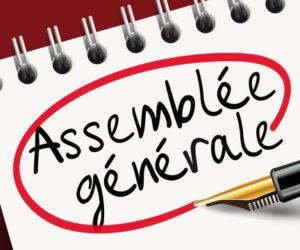 Assemblée Générale virtuelle le 8 janvier