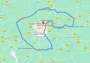 Parcours N604J-56km-Bocage