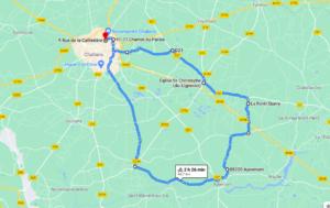 Parcours N40-15-45km-Bocage