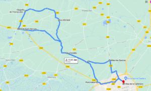 Parcours N40-31km-Bocage