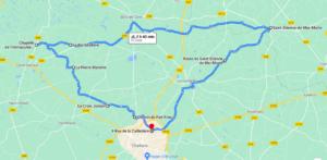 Parcours N50-16-52km-Bocage