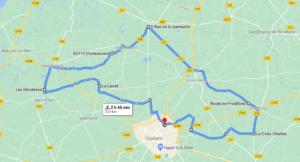 Parcours N50-20-55km-Bocage