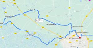 Parcours N42-30km-Bocage