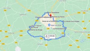 Parcours N52-31km-Marais
