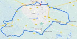 Parcours N09-29km-Bocage